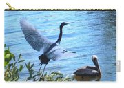 Blue Heron And Pelican Carry-all Pouch
