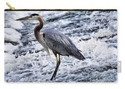 Blue Heron Fishing V3 Carry-all Pouch