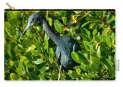 Blue Heron In Mangroves Carry-all Pouch
