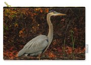 Blue Heron In The Fall Carry-all Pouch