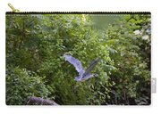 Blue Heron Journey I Carry-all Pouch