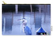 Blue Heron Reflections Carry-all Pouch