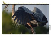 Blue Heron Wing Tips Carry-all Pouch