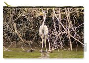 Blue Herron Carry-all Pouch