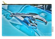 Blue Hood Ornament-hdr Carry-all Pouch