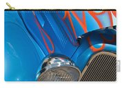 Blue Hot Rod Carry-all Pouch