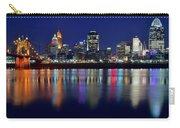 Blue Hour In Cincinnati Carry-all Pouch