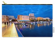 Blue Hour Zadar Waterfront View Carry-all Pouch