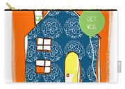 Blue House Get Well Card Carry-all Pouch