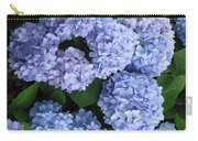 Blue Hydrangea Carry-all Pouch
