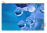 Blue Ice Bubbles Carry-all Pouch