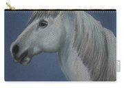 Blue Ice Pony Carry-all Pouch