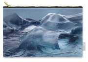 Blue Ice Sculpture Carry-all Pouch