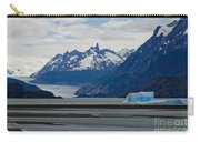 Blue Icebergs On Grey Lake In Patagonia Carry-all Pouch