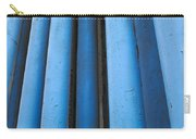 Blue Industrial Pipes Carry-all Pouch