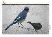 Blue Jay And Junco Carry-all Pouch
