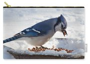 Blue Jay Chow-down Carry-all Pouch