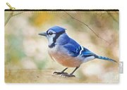 Blue Jay - Digtial Paint Carry-all Pouch