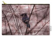 Blue Jay In The Willow Carry-all Pouch