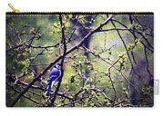 Blue Jay - Paint Effect Carry-all Pouch