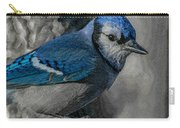 Blue Jay Painterly Carry-all Pouch