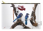 Blue Jays In Winter Carry-all Pouch