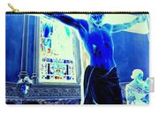 Blue Jesus Carry-all Pouch