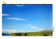 Blue Lake And Green Hills Carry-all Pouch