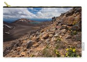 Blue Lake Of Tongariro National Park New Zealand Carry-all Pouch