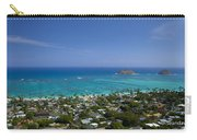 Blue Lanikai Overview Carry-all Pouch