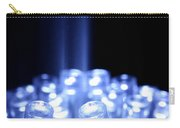 Blue Led Lights With Light Beam Carry-all Pouch