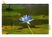 Blue Lily Carry-all Pouch
