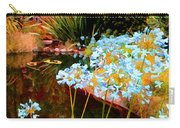 Blue Lily Water Garden Carry-all Pouch