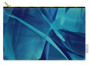 Blue Linear Mesh No 1 Carry-all Pouch