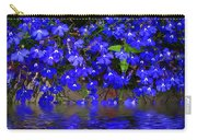 Blue Lobelia Carry-all Pouch
