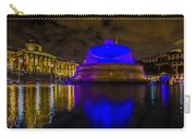 Blue London Fountain Carry-all Pouch