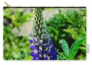 Blue Lupins Carry-all Pouch