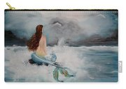 Blue Mermaid Carry-all Pouch