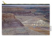 Blue Mesa At Petrified Forest National Park-arizona Carry-all Pouch