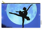 Blue Moon Ballerina Carry-all Pouch