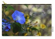 Blue Morning Glories Carry-all Pouch