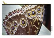Blue Morpho Butterfly Costa Rica Carry-all Pouch