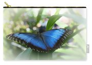 Blue Morpho Butterfly Dsc00575 Carry-all Pouch