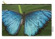 Blue Morpho - Morpho Peleides Carry-all Pouch