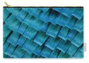 Blue Morpho Wing Scales Carry-all Pouch