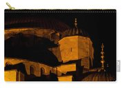 Blue Mosque At Night 02 Carry-all Pouch