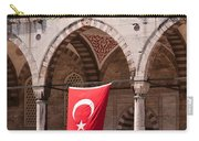 Blue Mosque Courtyard Portico Carry-all Pouch
