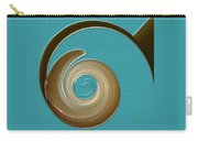 Blue Motion Carry-all Pouch by Ben and Raisa Gertsberg