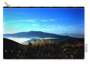 Blue Mountain Landscape Umbria Italy Carry-all Pouch