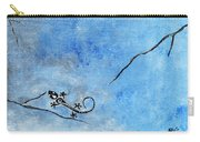 Blue Nile Lizard Carry-all Pouch